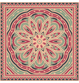 Template for shawl vector image
