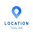 location icon template business logo design with vector image