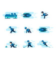 winter games vector image
