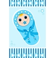 baby boy card 1 vector image