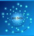 big data vector image