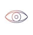 eye human anaomy to optical graphic vector image
