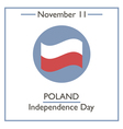 Poland Independence Day vector image