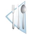 a cutlery vector image