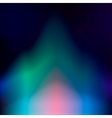 Northern lights abstract background vector image