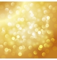 Christmas abstract gold background vector image