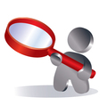 search vector image vector image
