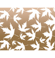 maple pattern vector image
