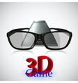 3D Technology vector image