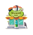 sushi bar or chinese vector image