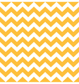 Thanksgiving Chevron pattern - yellow and white vector image