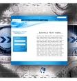 website business template vector image