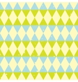 retro triangle pattern vector image vector image