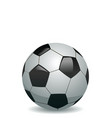 illustration of soccer ball vector image