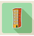 Hand drawn real estate building vector image