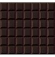 Dark Tile Chocolate Seamless Background vector image