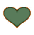 school board in form of heart i love learn i like vector image
