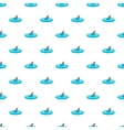 Shark in the sea pattern cartoon style vector image