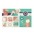 Picnic design flat concept vector image