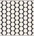 hexagon seamles geometric pattern vector image