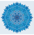 Mandala Vintage decorative element vector image