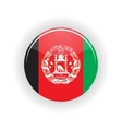 Afghanistan icon circle vector image