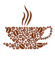 cofee vector image vector image