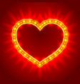 design for valentines day vector image
