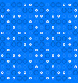 decorative seamless simple pattern vector image