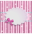 gentle pink background vector image