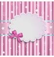 gentle pink background vector image