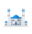 Muslim mosque icon isolated on white background vector image