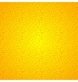 Yellow seamless background grunge dots vector image