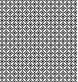 Seamless black and white thorn pattern vector image