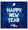 Its Happy New year card vector image vector image