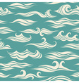 seamless pattern waves vector image