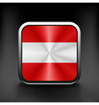 Austria waving flag national travel icon country vector image