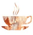 tea watercolor vector image vector image