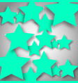 background with stars vector image