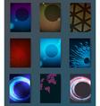 Huge mega pack Brochure design template set vector image