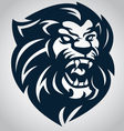 Lion head logo 10092016 vector image