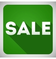 Sale flat design icon for your business and promo vector image