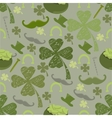seamless pattern with St vector image