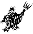 Sea Monster -  Vinyl-ready vector image vector image