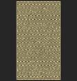 vintage linear pattern vector image