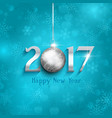 new year bauble background 1610 vector image vector image