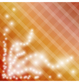 gradient background with squares and shining stars vector image