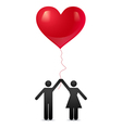 love together new vector image
