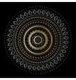 Vintage Gold mandala vector image vector image