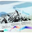 Mountain tour vector image